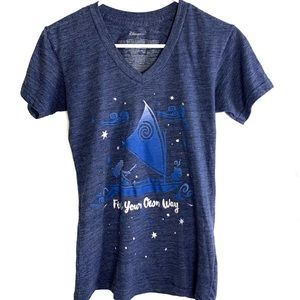 Disney Woman Child Moana ''Find Your Own Way'' Tee